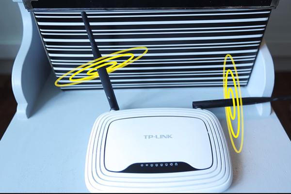 Tìm một ví trí đặt router Wi-Fi trong nhà để tất cả các thiết bị đều bắt được tín hiệu