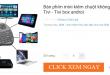 Chuột Bay Kiêm Bàn Phím Không Dây Cho Smart Tivi & Android Box