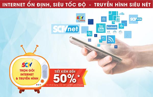 Trọn Gói Truyền Hình và Internet Wifi SCTV Đồng Nai Cực Rẻ