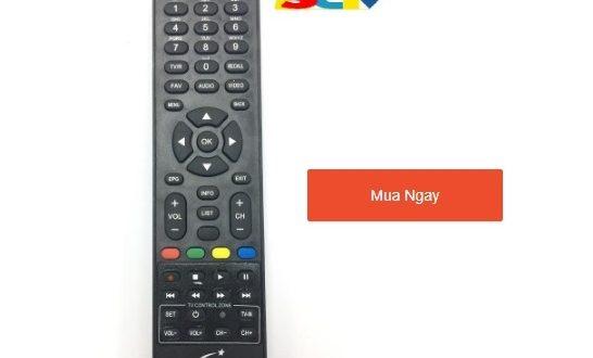 Điều khiển đầu thu truyền hình cáp SCTV