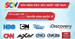 SCTV Cà Mau - Lắp truyền hình cáp SCTV tại Cà Mau