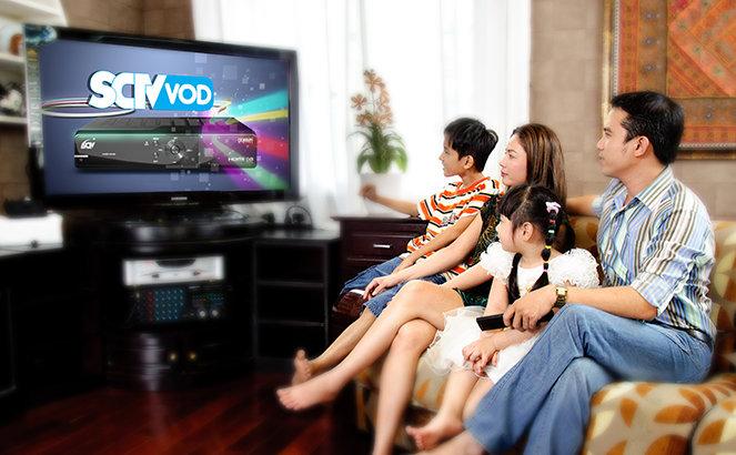 Thủ tục lắp đặt truyền hình cáp SCTV Kon Tum